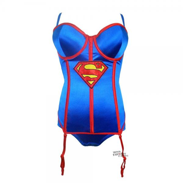 Supergirl Corset with Panty