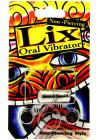 Lix Non Piercing Oral Vibrator Silver Sex Toy Product