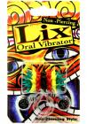 Lix Non Piercing Oral Vibrator Rasta Multicolor Sex Toy Product