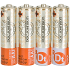 Doc Johnson Batteries AA 4 Pack Sex Toy Product