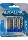 Doc Johnson Alkaline Batteries AA 4 Pack Sex Toy Product