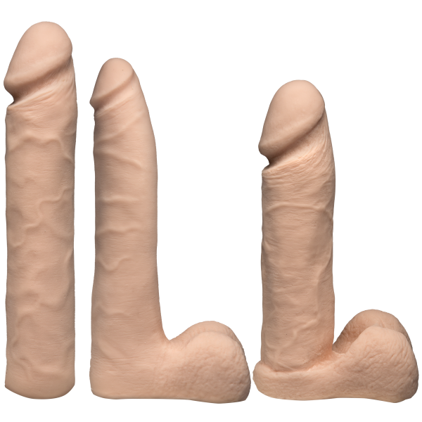 Vac-U-Lock Dual Densiity Experienced Set -Vanilla Beige Sex Toy Product Image 2