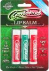 Goodhead Lip Balm 3pk Mint Cherry Straw