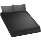 Kink Wet Works Fitted Sheet Queen Black Sex Toy Product