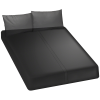Kink Wet Works Fitted Sheet Queen Black
