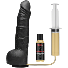 Kink Drencher Squirting Cock 10 inches Black Dildo Sex Toy Product