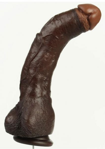 Black Thunder Realistic Cock 12 Inches Brown Sex Toy Product