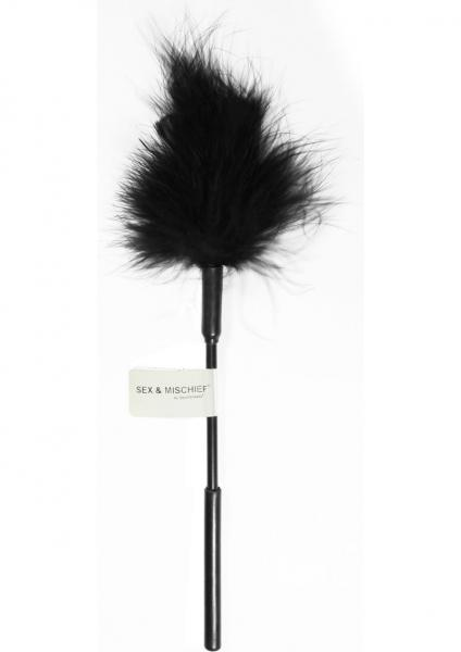 Sex And Mischief Feather Tickler Black Sex Toy Product