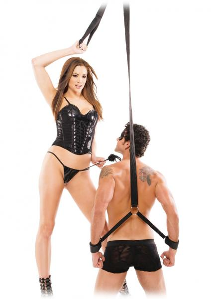 Fetish Fantasy Series Fantasy Tickle Strap Black Sex Toy Product