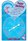Sexy Spinner Birthday Cards 12 Pack