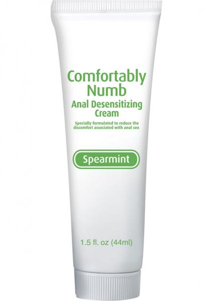 Anal sex desensitizing cream