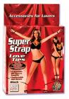 Super Strap Love Ties Black Sex Toy Product