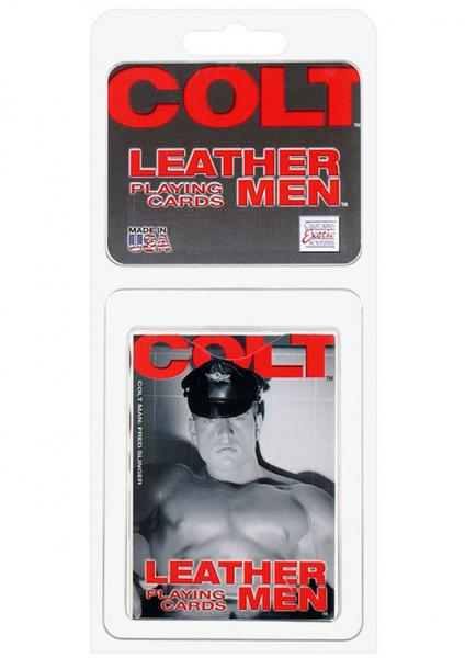 Colt Leather Men Playing Cards Bulk Sex Toy Product