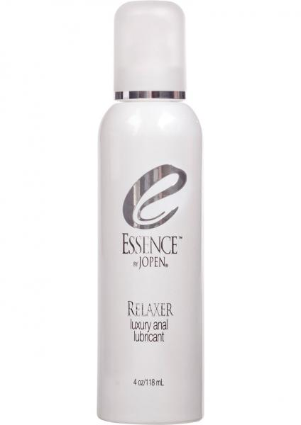 Essence Relaxer Luxury Water Based Anal Lubricant - 4 oz Sex Toy Product