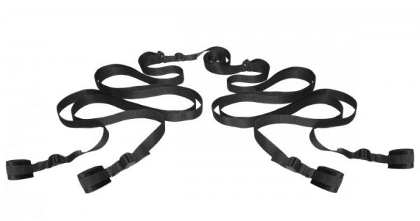 Hold Me Bedroom Restraint System Black Sex Toy Product