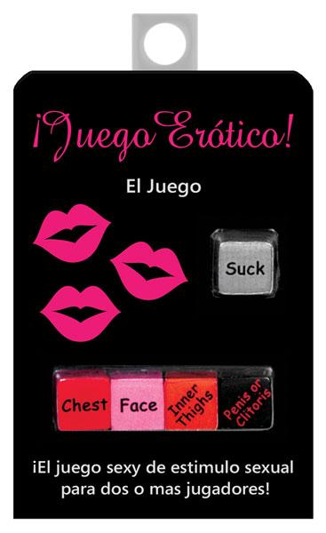 Juego Erotico Dice Game In Spanish Sex Toy Product