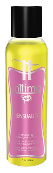 Inttimo By Wet Sensuality Aromatherapy Massage Oil 4 oz