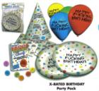 Happy fucking birthday party pack