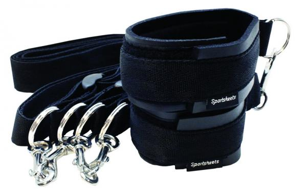 Sportsheets neoprene cuffs and tether kit Sex Toy Product