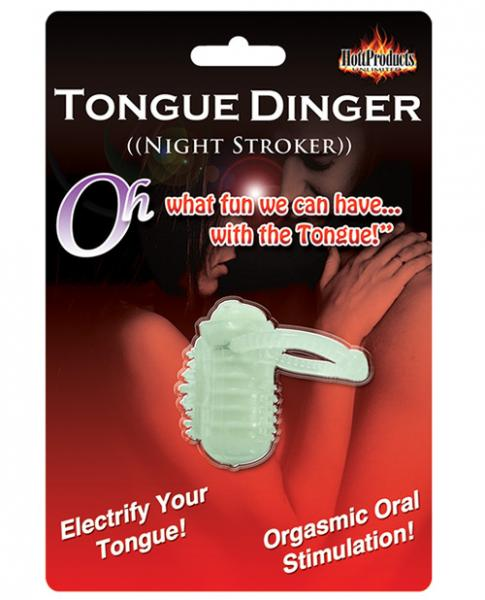 Tongue Dinger Glow in the Dark Sex Toy Product