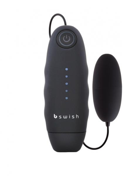 Bnaughty Vibrating Bullet - Black	 Sex Toy Product