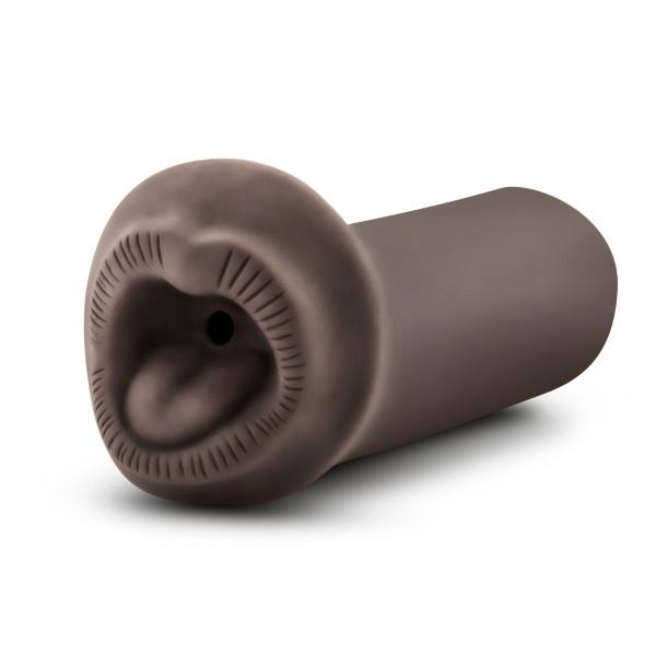 Hot Chocolate Naughty Nicole Brown Mouth Stroker Sex Toy Product