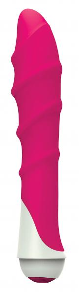 Lily 7 Function Waterproof Silicone Vibe - Pink Sex Toy Product