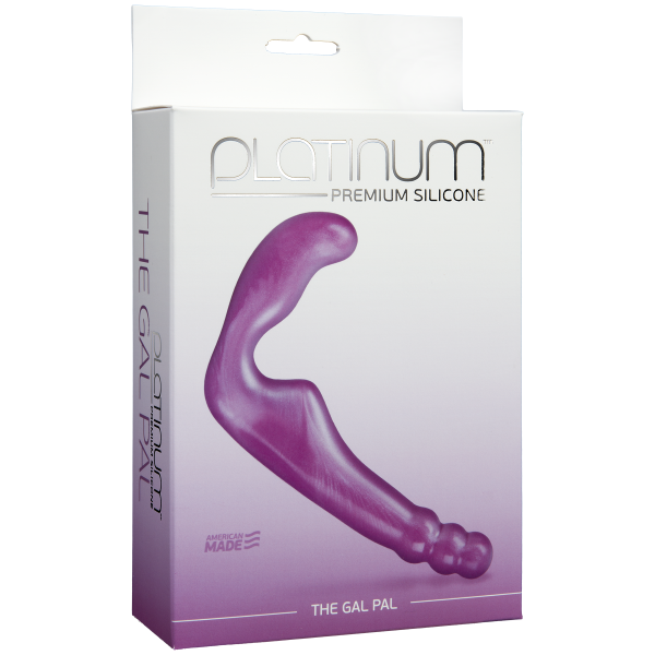 The Gal Pal Premium Silicone Purple Sex Toy Product Image 2