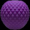Mood Powerball Stroker Thick Ribs Purple