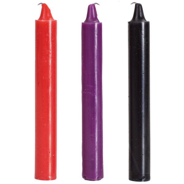 Japanese drip candles - pack of 3 Sex Toy Product