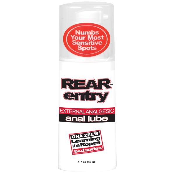 Rear Entry Anal Lube 1.7 Oz Sex Toy Product