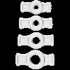 Titanmen Tools C Ring Set - Clear