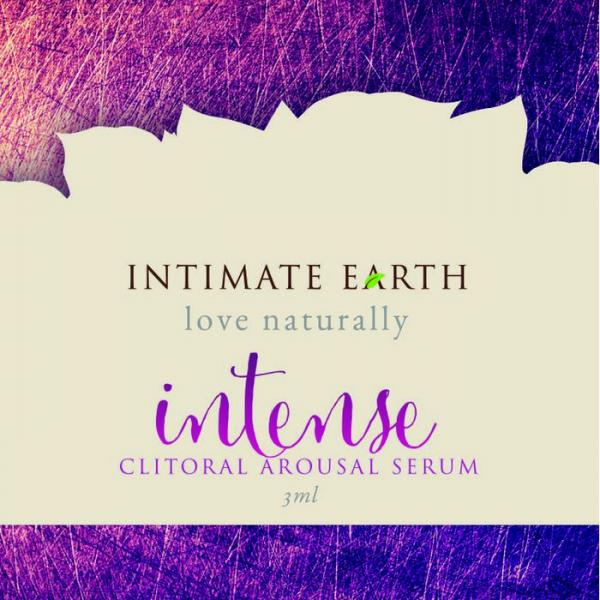 Intimate Earth Intense Clitoral Gel 2ml Foil Sex Toy Product