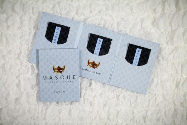Masque mango sexual flavors wallet singles - pack of 3 Sex Toy Product