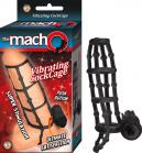 Macho Vibrating Cock Cage Black Sex Toy Product