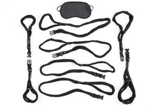 Fetish Fantasy Rope Cuff and Tether Set Sex Toy Product