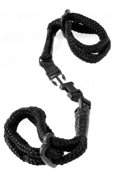 Rope Cuffs - Black