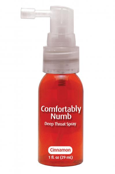 Comfortably numb deep throat spray - cinnamon Sex Toy Product