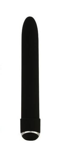 Classic Chic 7 Function 6 Inches Black Vibrator Sex Toy Product