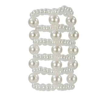 "Pearl Stroker Beads Large 3"" Sex Toy Product"