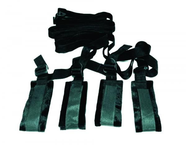 Sex and Mischief Bed Bondage Restraint Kit Sex Toy Product