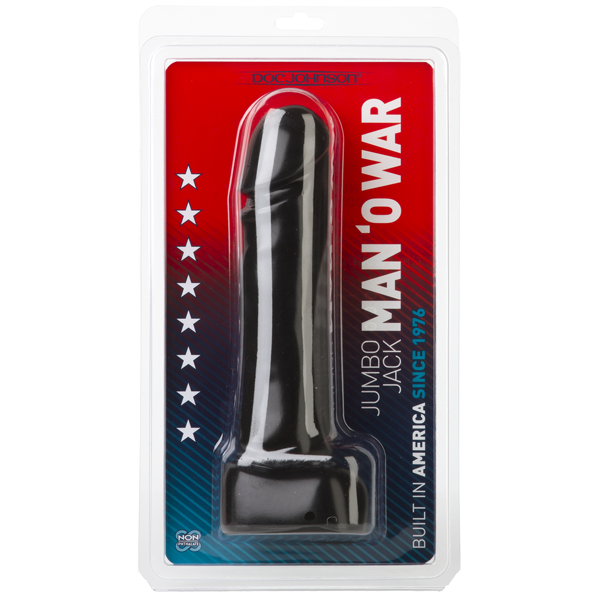 Jumbo Jack Man O War - Black Sex Toy Product Image 3