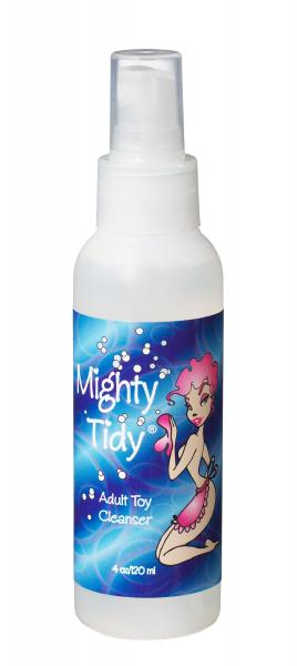 Mighty Tidy Adult Toy Cleaner 4 oz Sex Toy Product