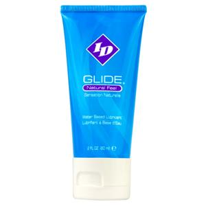 ID Glide Lube 2 oz Travel Tube Sex Toy Product