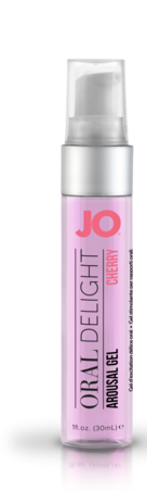 JO Oral Delight Arousal Gel Cherry 1oz Sex Toy Product
