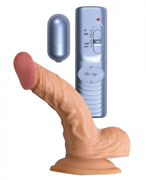 Strapped to vibrator