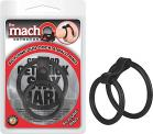 Macho Silicone Duo Cock & Ball Ring	 Sex Toy Product