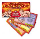 Sexual Fantasy Scratch Cards Sex Toy Product