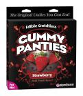 Edible Crotchless Gummy Panties Strawberry Sex Toy Product