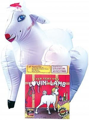 Lovin Lamb White Inflatable Party Sheep
